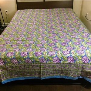Other - 100% cotton block print bedsheet set